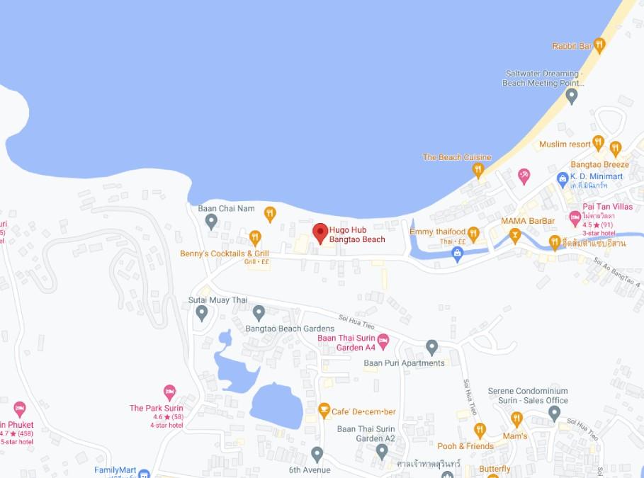 Move Ahead Media Phuket Map